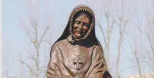statue of St Rose Philippine Duchesne
