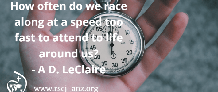stop watch - how often do we race along to fast to attend to life?