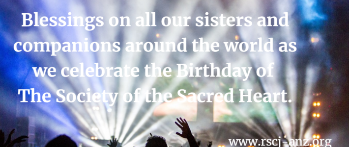 Birthday of Society of the Sacred Heart