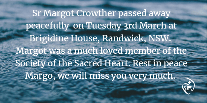Margot Crowther RIP