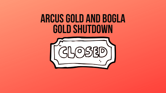 Jagex Closed Down Bogla Gold and Arcus Gold Runescape Gold Sites