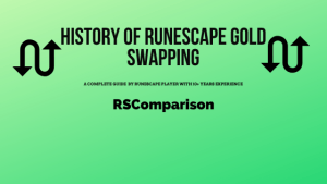 history of runescape gold swapping