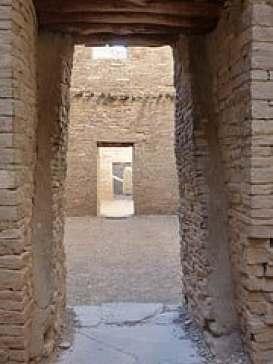 Chaco doorway