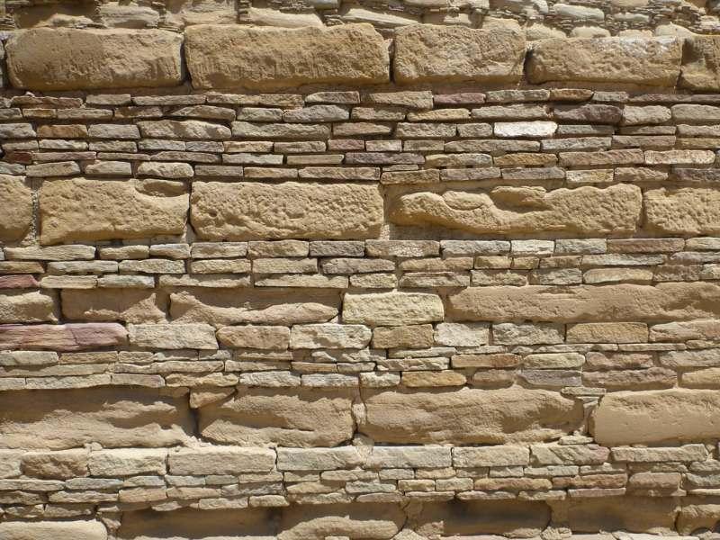 Chaco wall detail