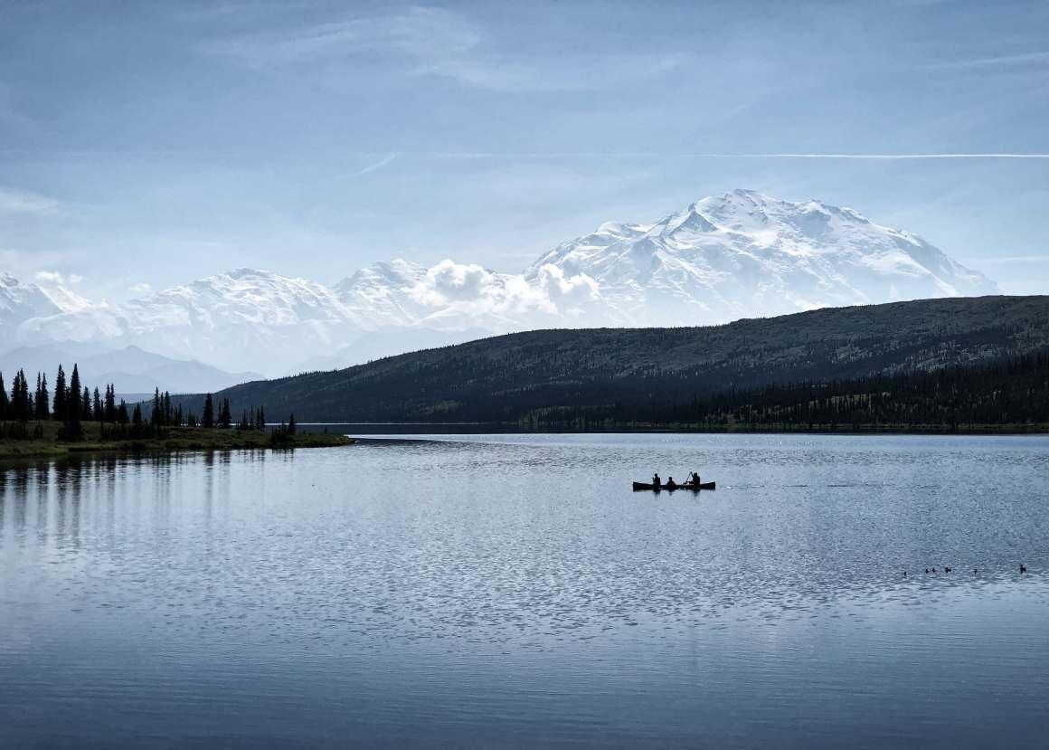 Denali canoe