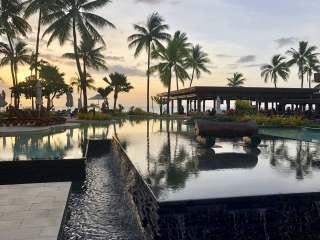 Sunset at the Sheraton Fiji Resort