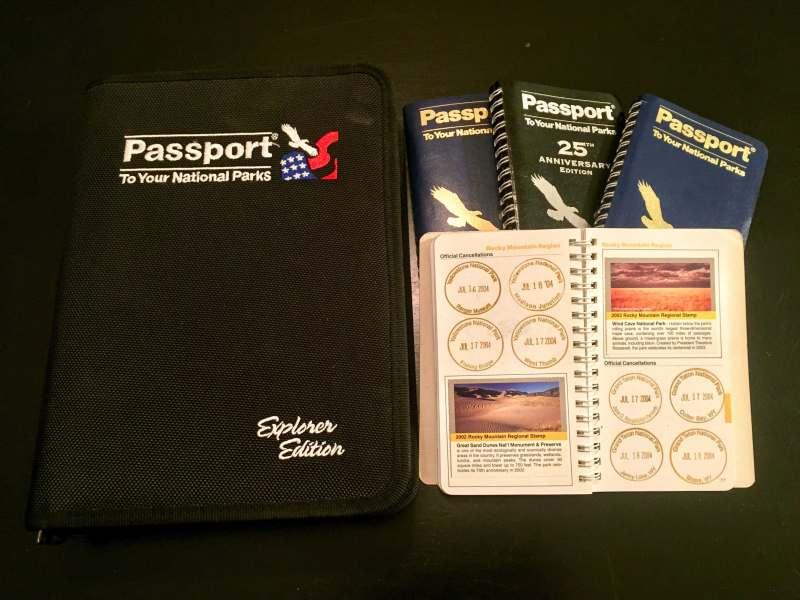 park stamp passports