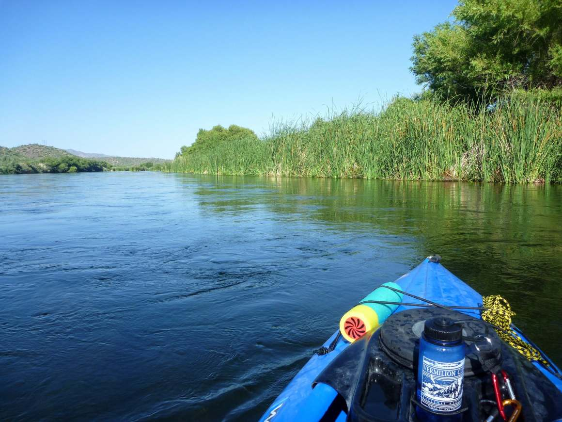 salt river kayaking in stillwater
