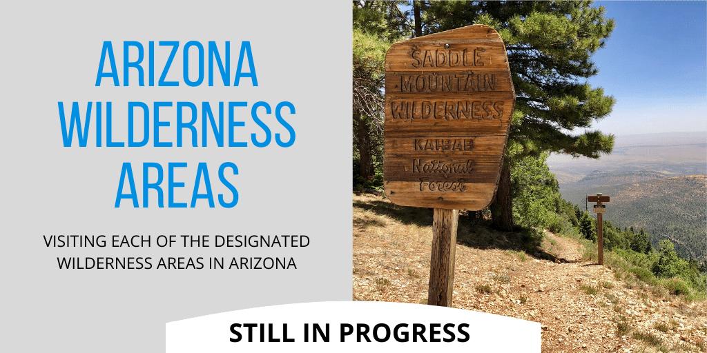 Arizona Wilderness Areas