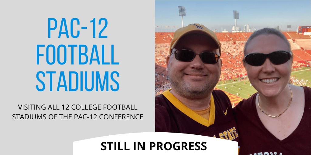 Pac-12 Stadiums