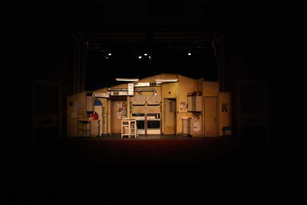 Set Design: Beckie Morris, Lighting Design: Steve Lucas