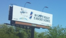 Sign on the way home to Phoenix.