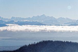 Lac Léman & Mont Blanc