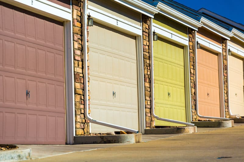 8 Tips To Help You Choose The Right Garage Door Paint ... on Choosing Garage Door Paint Colors  id=74963