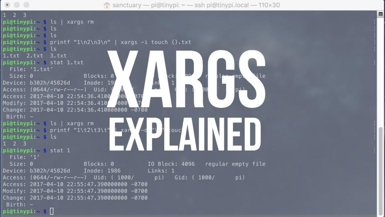 Linux 101 Hacks : Xargs 명령어를 이용한 다양한 활용방법