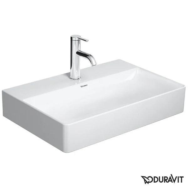 duravit durasquare washbasin for metal console