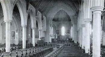 Holy Trinity Church interior 1907