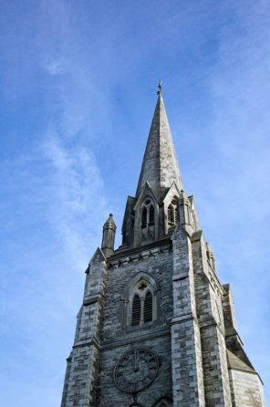 Holy Trinity Church spire, Dover Street, Ryde