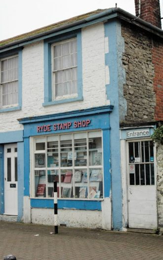 Ryde stamp shop, Anglesea Street