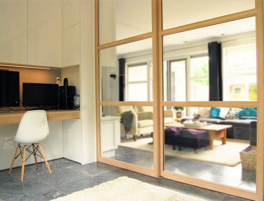 Woonkamer en Werkkamer En Suite Interieur