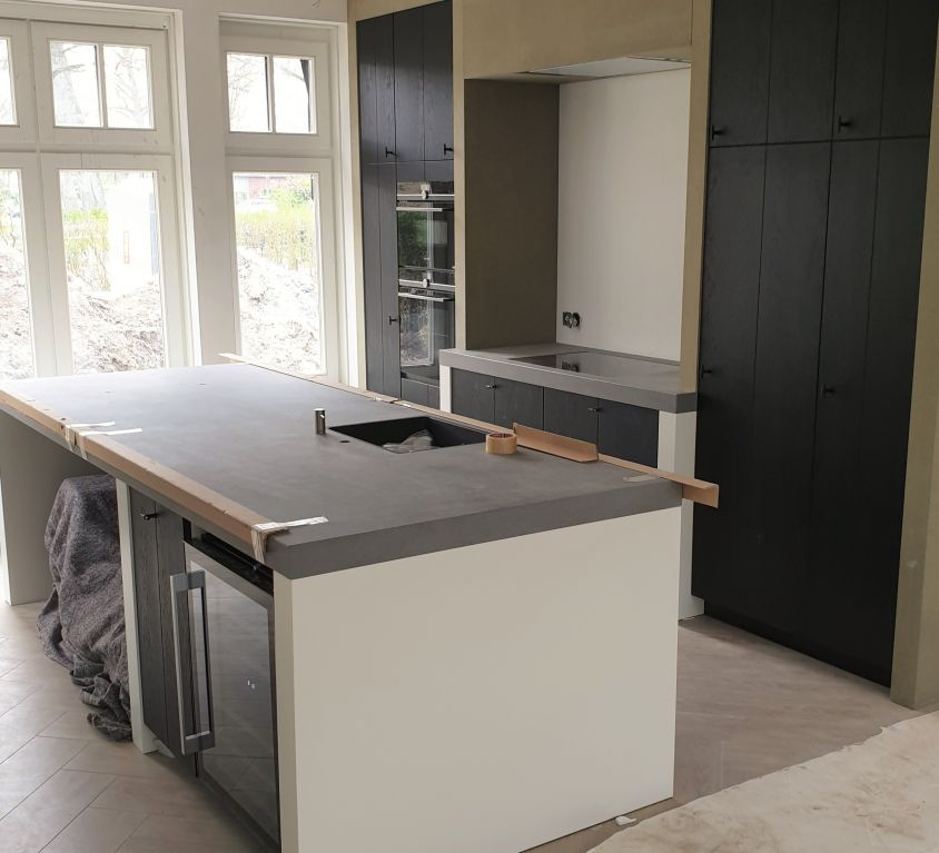 Maatwerk Keuken met Keukeneiland