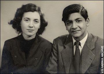 Pat and Vidia Naipaul