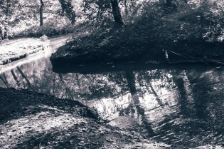 'Winding water.' Photography and edit by Rose-Sky Journey Pieces. Copyright 2016.