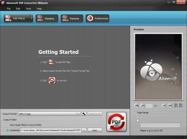 Aiseesoft PDF Converter Ultimate 3322 Portable Rus