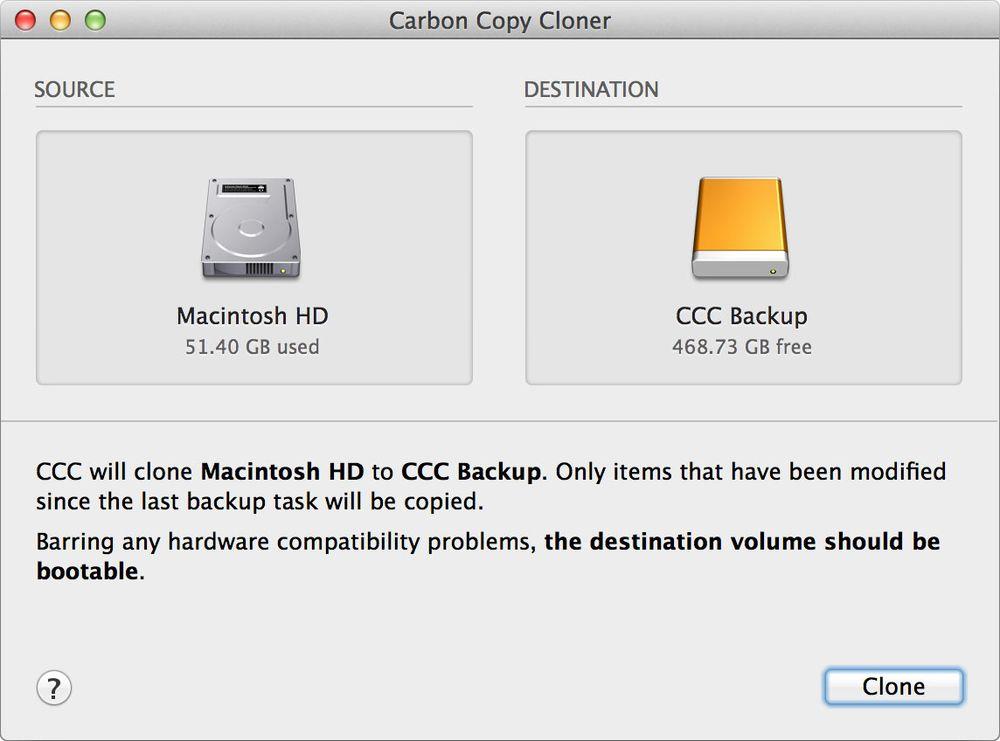 download Carbon Copy Cloner