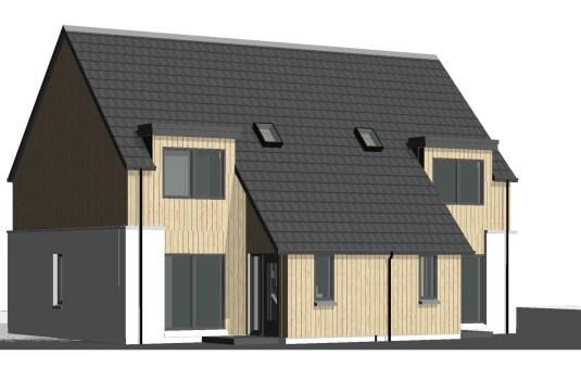 Bynack 2 Bedroom home 3D render