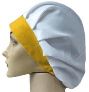 Touca tecido (com aba)