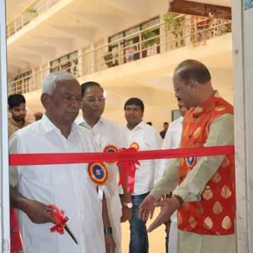 Inauguration of district level inter-school painting competition and annual art exhibition (8)