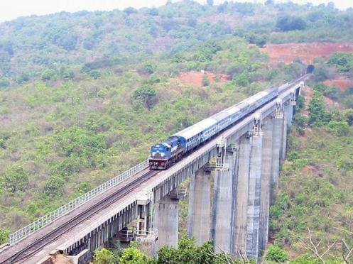 Panval Viaduct- Highest Railway Bridge of Konkan Railway