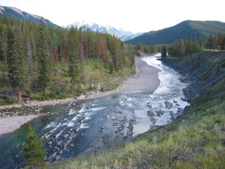 Oldman River upstream of the Oldman River Dam Southern Alberta, Canada