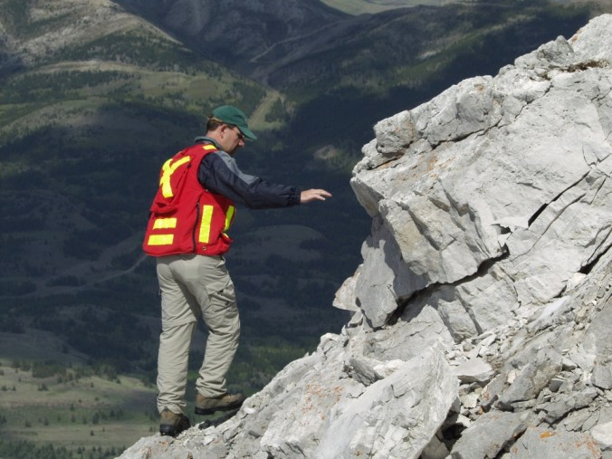 Turtle Mountain Monitoring Project Crowsnest Pass, Alberta, Canada