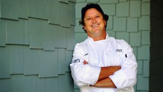 Bill Briand of Fisher's in Orange Beach is a five-time semifinalist for Best Chef in the South. (Mike Kittrell / Alabama NewsCenter)