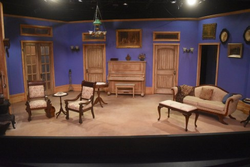 """The set for """"A Doll's House"""" at Terrific New Theatre. (contributed)"""