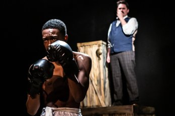 """Kordel Wooten and Alex Ungerman perform in """"The Royale"""" in Terrific New Theatre. (contributed)"""
