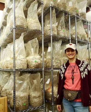 Fungi Farm supplies growing kits and spores to farmers. (Fungi Farm)