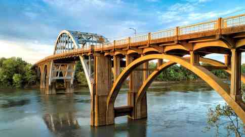The Edmund Pettus Bridge in Selma. (U.S. Civil Rights Trail)