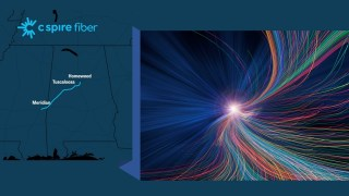 C Spire building 243-mile fiber-optic cable route in Alabama and Mississippi