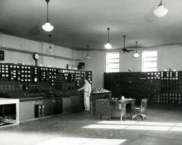 A Plant Gorgas control room. (Alabama Power)