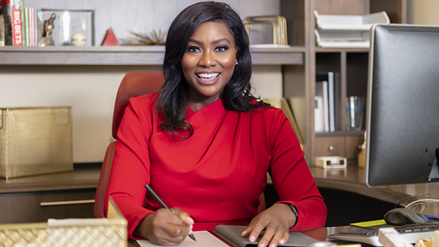 """Alabama Power's Morgan makes first-ever """"Black Women Give Back"""" list"""