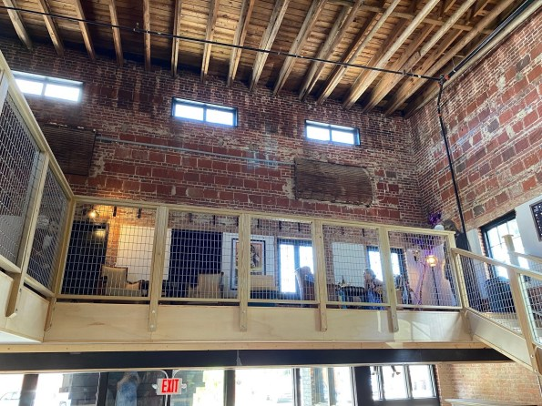 The loft at Provisions Cheese and Wine Shoppe. (Michelle Matthews/This is Alabama)