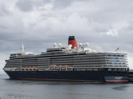 The Queen Elizabeth is one of the cruise ships that Danny Smith has worked with in his job. (contribution)