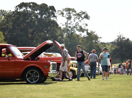 Cars by the Creek car show welcomes all years, makes and models. (Chris Jones)