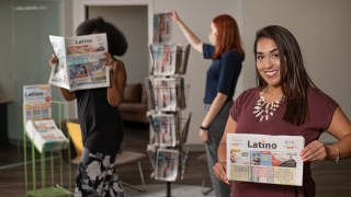 Power Moves: Vanessa Vargas innovates family newspaper, Latino News