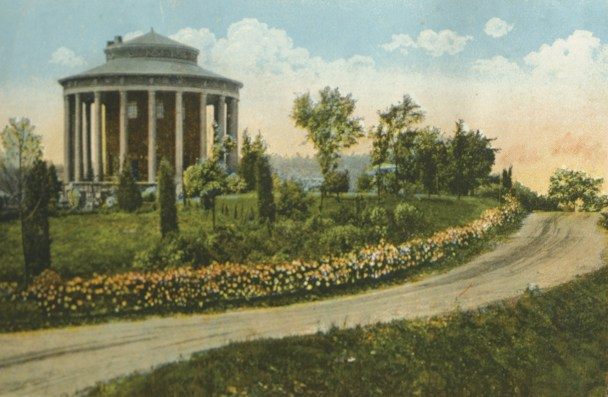 George Ward's most famous park no longer exists -- his Vestavia estate on the crest of Shades Mountain, with a residence modeled on the Roman Temple of Vesta. (contributed)