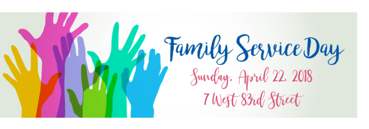Familly Service Day Banner