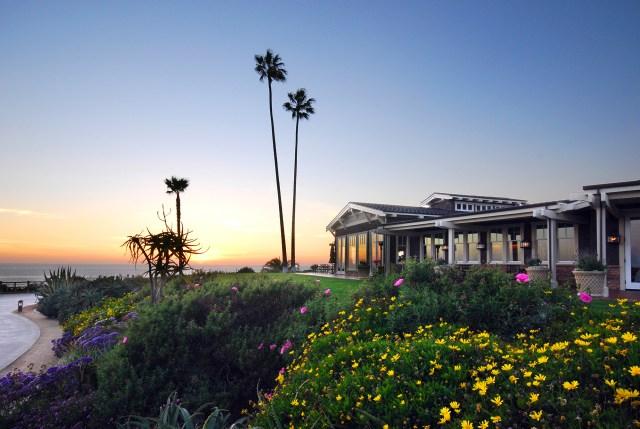 MLB Architectural Studio Exterior Sunset Palm Trees 1